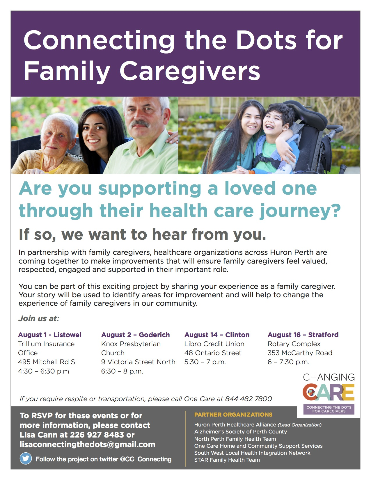 caregivers poster